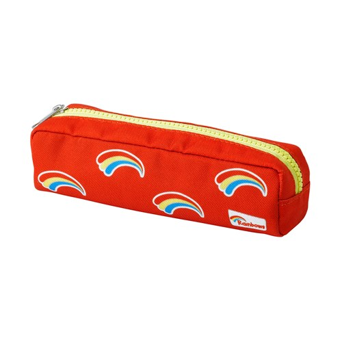 Rainbows red pencil case