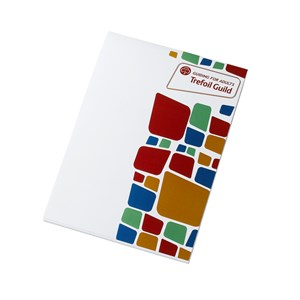 Trefoil Guild tiled writing pad