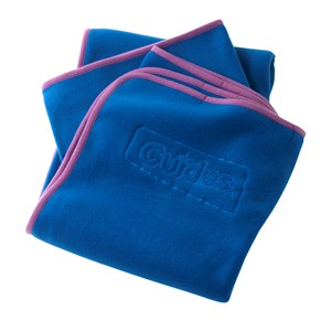 Guides fleece blue blanket