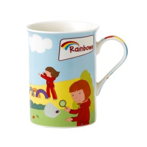 Rainbows cartoon mug