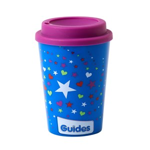 Guides reusable travel mug