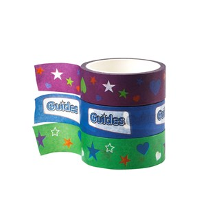 Guides washi tape 3pk