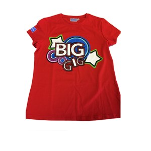 Big Gig red cotton t-shirt