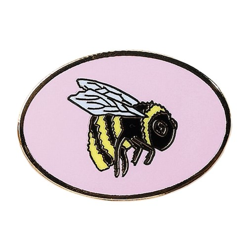 Patrol pin badge bumble bee
