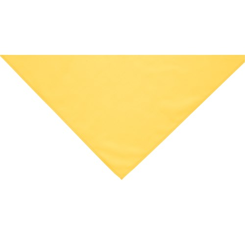 Yellow neckerchief scarf