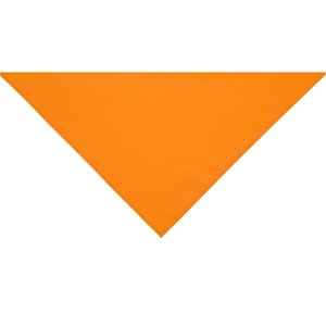 Orange neckerchief scarf