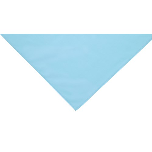 Light blue neckerchief scarf