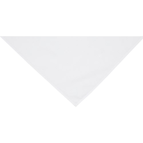 White neckerchief scarf