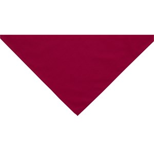 Raspberry neckerchief scarf