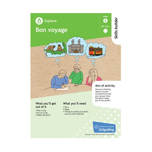 Explore skills builder stage 6 Bon voyage activity resource