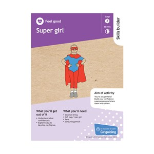 Feel good skills builder stage 2 Super Girl activity resource