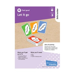 Feel good skills builder stage 5 let it go activity resource