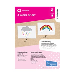 Innovate skills builder stage 3 A work of art activity resource