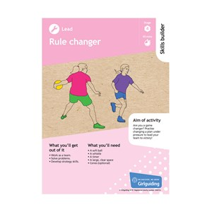 Lead skills builder stage 4 rule changer activity resource