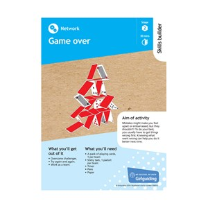 Network skills builder stage 2 game over activity resource