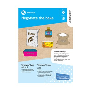 network skills builder stage 5 negotiate the bake activity resource