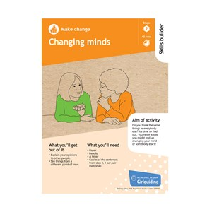 Make change skills builder stage 2 changing minds activity resource