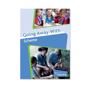 Girlguiding Going away with scheme old resource