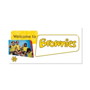 Welcome to Brownies logo