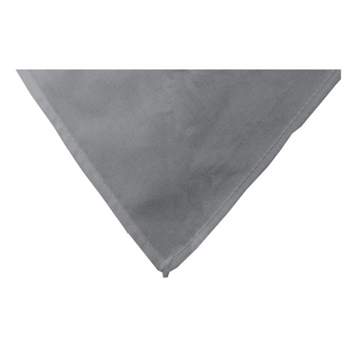 Grey neckerchief scarf