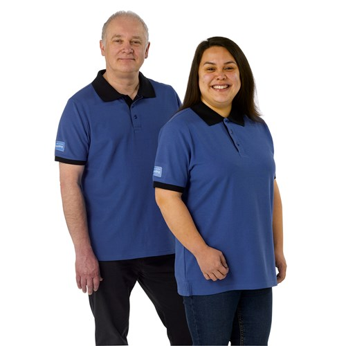 Member uniform unisex polo shirt