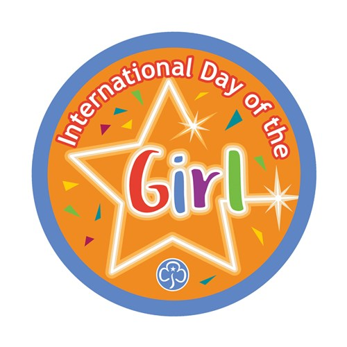 International Day of the Girl woven badge