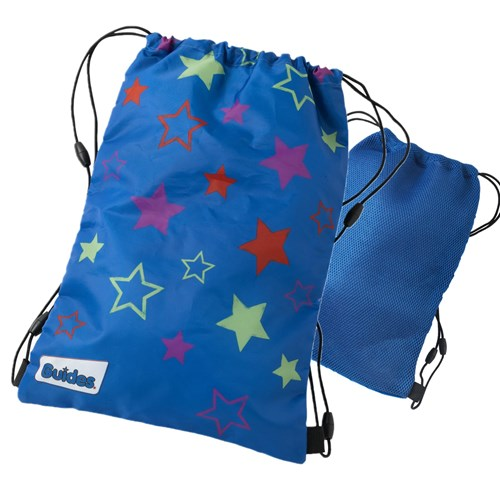 Guides sling bag with stars and mesh back