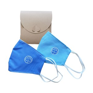Child face covering pack of 2